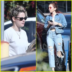 Kristen Stewart & Rumored GF Sara Dinkin Spend the Day Together