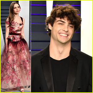 Noah Centineo Hangs Out with Lily Collins After Their Social Media Exchange!