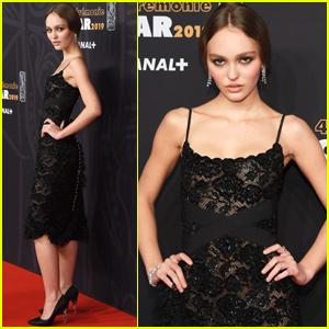 Lily-Rose Depp Steps Out For Cesar Film Awards
