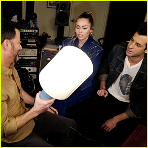 Miley Cyrus Explains to Jimmy Kimmel That 'Nothing Breaks Like a Heart' Is a Simile!
