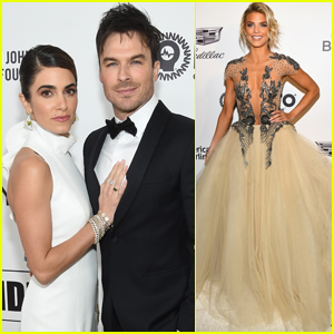 Nikki Reed & Ian Somerhalder Join AnnaLynne McCord at After Oscars Party!