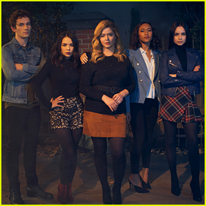 Sasha Pieterse, Sofia Carson & More Star in 'Pretty Little Liars: The Perfectionists' Eery Promo Pics