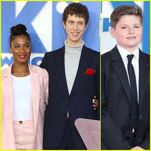 Rhianna Dorris & Angus Imrie Premiere 'The Kid Who Would Be King' in London