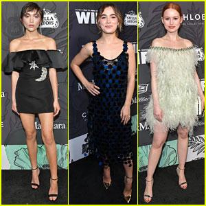 Rowan Blanchard, Haley Lu Richardson and More Attend Women In Film Oscar Party