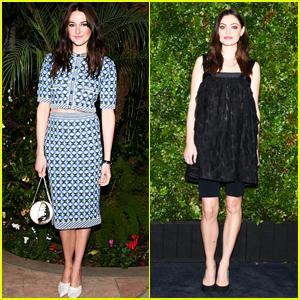 Shailene Woodley & Phoebe Tonkin Strike a Pose at Chanel Oscars Pre-Party!