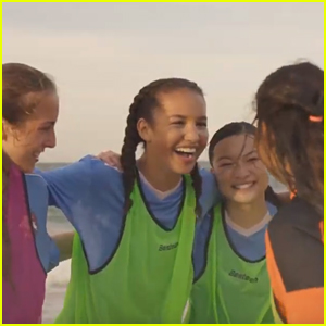 Sofia Wylie Ends Up as Soccer School Instead of At Sea in 'Back of the Net' Trailer