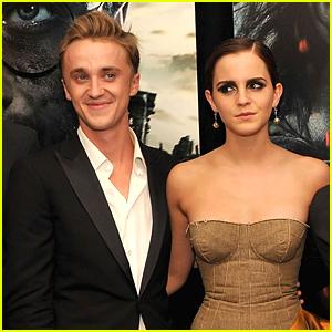 Tom Felton Snaps Gorgeous New Photo of Emma Watson