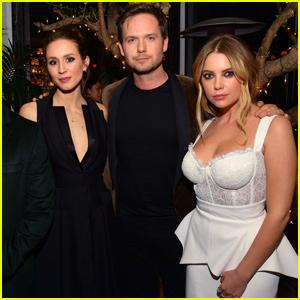 Troian Bellisario Reunites With Ashley Benson at Vanity Fair's Pre-Oscar Party!
