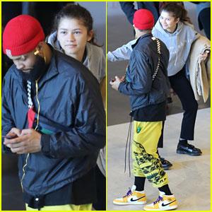 Zendaya Surprises Odell Beckham, Jr. in Fun Pictures!