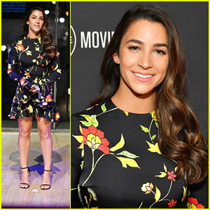 Aly Raisman Announces 'From Darkness To Light' Documentary at A+E Upfronts