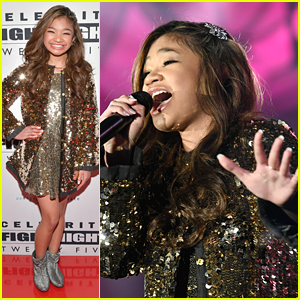 Angelica Hale Wows With Stunning Performance at Celebrity Fight Night XXV