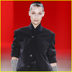 Bella Hadid Goes Edgy for Haider Ackermann Fashion Show