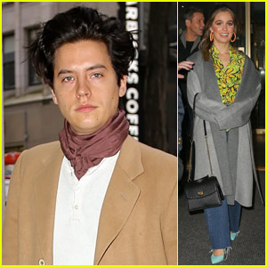 Cole Sprouse Joins 'Five Feet Apart' Co-Star Haley Lu Richardson at 'Today' Show!