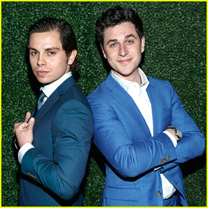 'Wizards of Waverly Place' Stars David Henrie & Jake T. Austin Reunite at Indochino's Spring/Summer Launch