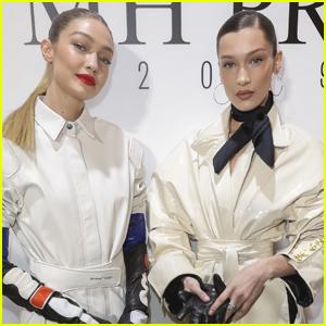 Gigi Hadid Joins Little Sis Bella at Louis Vuitton Party