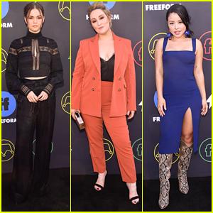 Maia Mitchell Joins Cierra Ramirez & 'Good Trouble' Cast at Freeform Summit 2019