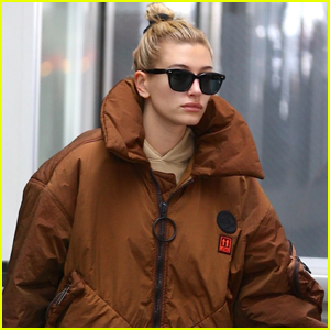 Hailey Bieber Jets Home to New York City