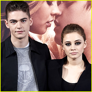 Hero Fiennes Tiffin & Josephine Langford Pose Together at 'After' Photocall