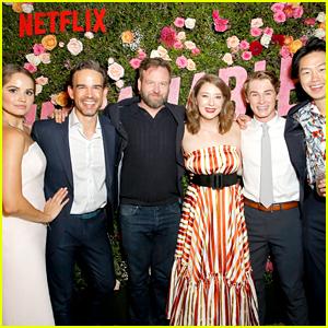 Debby Ryan & 'Insatiable' Cast Kick Off Season Two in Atlanta