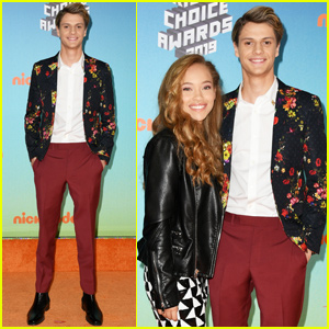 Jace Norman & Shelby Simmons Couple Up at Kids' Choice Awards 2019