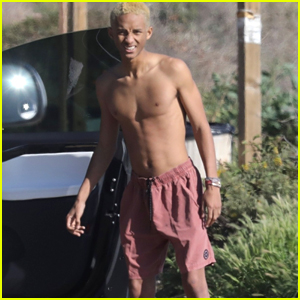 Jaden Smith Spends a Shirtless Day by the Sea in Malibu