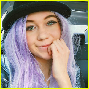 Jessie Paege Explains Why She Lied About Her Purple Hair!
