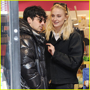 Joe Jonas Goes Out Shopping with Sophie Turner