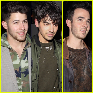 The Jonas Brothers Meet Up for Dinner in WeHo!