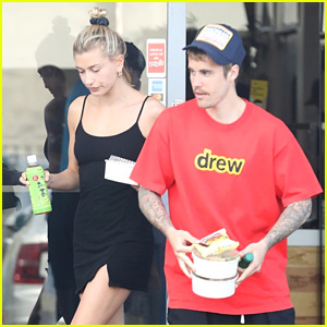 Justin & Hailey Bieber Spend a Casual Saturday Together