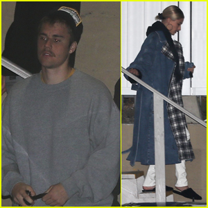 Justin Bieber Stops By Late Night Church Service with Wife Hailey