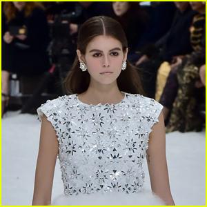 Kaia Gerber Walks the Runway at Chanel Fashion Show