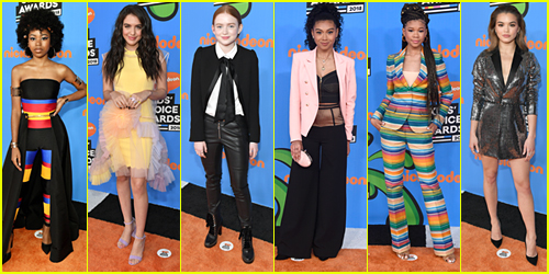 It's A Fashion Flashback Friday - See What The Stars Wore To The 2018 Kids' Choice Awards