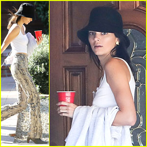 Kendall Jenner Wears Snake Skin Pants to Kanye West's Church Service
