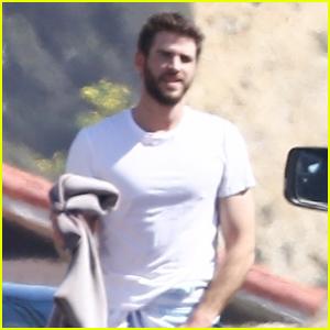 Liam Hemsworth Does Some Surfing in Malibu