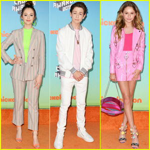 Olivia Sanabia Joins 'Coop & Cami Ask the World' Cast at Kids' Choice Awards 2019!