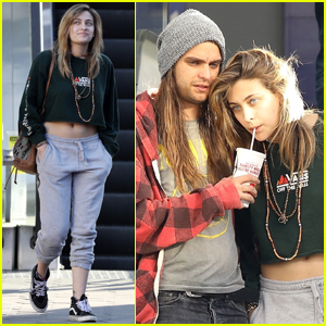 Paris Jackson Heads to the Movies with Boyfriend Gabriel Glenn After Slamming Suicide Attempt Reports