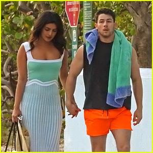 Nick Jonas' Wife Priyanka Chopra Visits His Music Video Shoot!