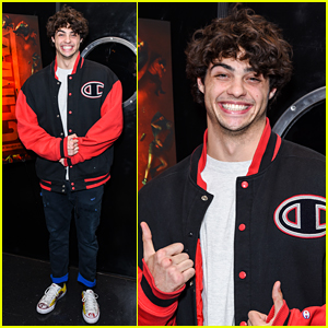 Noah Centineo Can't Stop Smiling at 'Climax' Screening!