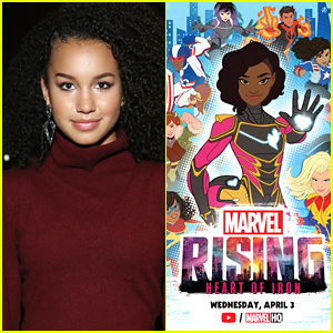 Sofia Wylie Confirms She'll Be At 'Marvel Rising: Heart of Iron' Panel at Wonder-Con