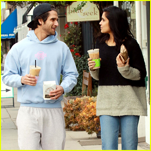 Tyler Posey & Sophia Taylor Ali Couple Up for Coffee in LA!