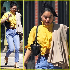 Vanessa Hudgens Is Giving a Great Review to This New Movie