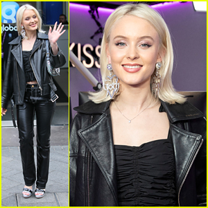 Zara Larsson Promotes New Single 'Don't Worry Bout Me' in London