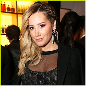 Ashley Tisdale Has 'Symptoms' First Listening Party With Family & Friends