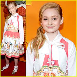 'The Last Summer' Actress Audrey Grace Marshall Steps Out For 'Missing Link' Premiere