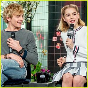 Will There Be a 'Sabrina' & 'Riverdale' Crossover? Ross Lynch & Kiernan Shipka Spill! (Video)