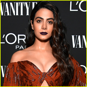 Emeraude Toubia Shares Behind-The-Scenes Pic From New Hallmark Movie 'Love In The Sun'