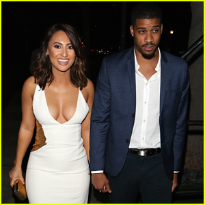 Francia Raisa & Boyfriend Chris Adkins Hold Hands On The Way To The 'Little' Premiere