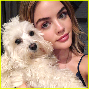 Lucy Hale Shares Adorable Birthday Post For Pup Elvis