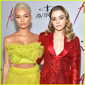 Pia Mia Pokes Fun at Becoming A Meme with 'After' Co-Star Josephine Langford Following The Premiere
