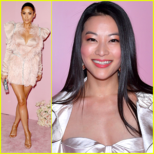 Shay Mitchell & Arden Cho Celebrate Patrick Ta's New Beauty Collection